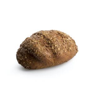 Filone di pane integrale con semi